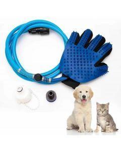 Guante con Manguera de Plástico para Mascotas