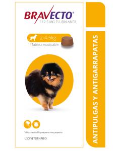Combo Bravecto Perros de 2 a 4 Kg x 3 unidades