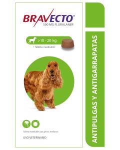 Bravecto Combo Perros de 10 a 20 Kg x 3- Ciudaddemascotas.com