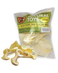 Snacks para perros Hojuelas de res natural-Ciudaddemascotas.com