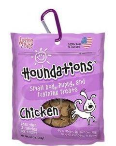 Snack para perro houndations chicken pollo -Ciudaddemascotas.com
