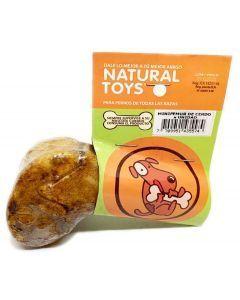 Snack para perro Mini Femur Cerdo Natural Toys - Ciudaddemascotas