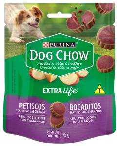 Dog Chow Abrazzos Tartitas 75gr