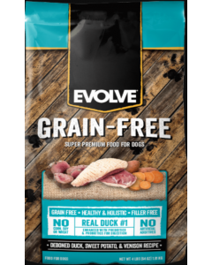 Evolve Dog Grain Free Duck
