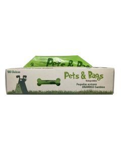 Pets & Bags Dispensador Bolsas Biodegradables x 180