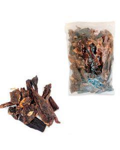 JERKY BEEF NATURAL Deshidratado (Carne en Tiras Premium) 1 LB (RECARGA) - Ciudaddemascotas.com