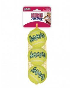 Kong perro squeak air pelota small x3