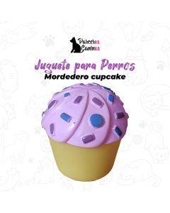 Juguete Mordedero cupcake Perro pequeño-Ciudaddemascotas.com