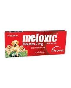 Meloxicam para perros 2mg x 10 tabletas - Ciudaddemascotas