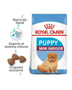 Comida para Perros Royal Canin indoor Puppy-Ciudaddemascotas.com