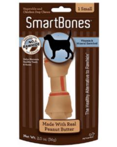 Smartbones Peanut Butter Small - Ciudaddemascotas.com