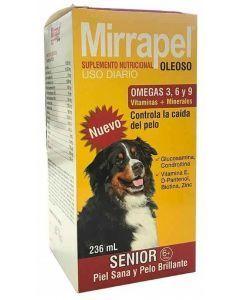 Suplemento Mirrapel Perros Senior x 236 ml - Ciudaddemascotas.com