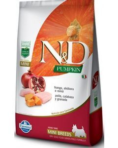N&D Pumpkin Adult Mini Frango 2.5 Kg