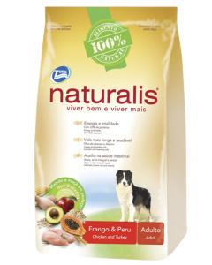 Naturalis Frango y Peru Perro Adulto