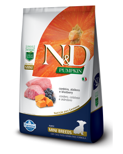 N&D Pumpkin Puppy Mini Cordeiro 2.5 Kg