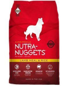 Comida Perro Nutra Nuggets Cordero y Arroz-Ciudaddemascotas.com