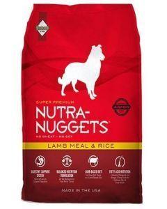 Nutra Nuggets Cordero Y Arroz (15 Kg)