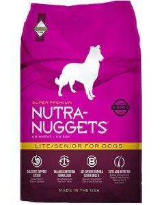 Nutra Nuggets Lite Senior para Perros