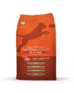 Nutra Gold Dog Grain Free Turkey and Sweet Potato x 2.25Kg