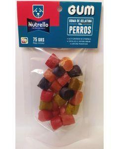Nutrello Gum Perros Bolsa x 75 gr-Ciudaddemascotas.com
