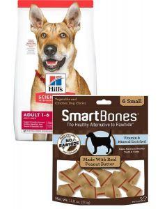 Hills Combo Adulto Original 6.8 Kg + Smartbones Peanut Butter