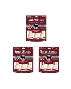 Smartbones Chicken Large X 3 Piezas Combo X3Und