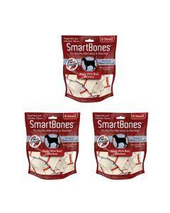 Smartbones Chicken Small X 6 Piezas Combo X3Und