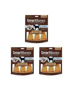Smartbones Peanut Butter Large X 3 Piezas Combo X3Und