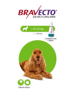 Antipulgas Bravecto Para Perro Spot on 10 - Ciudaddemascotas.com