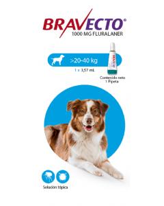 Bravecto Para Perro Spot on 20 - 40 Kg