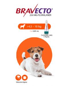 Bravecto Para Perro Spot on 4.5 - 10 Kg-Ciudaddemascotas.com