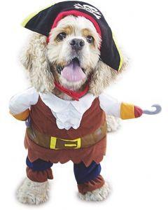 Disfraz Para Mascotas Piratas Del Caribe Talla XS - Ciudaddemascotas.com