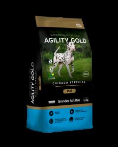 Comida Agility Gold Piel Grandes Adultos - ciudaddemascotas.com