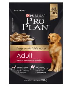 Pro plan pouch Adult Chicken x 100 g - Ciudaddemascotas.com