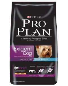 Pro plan Exigent Small Breed