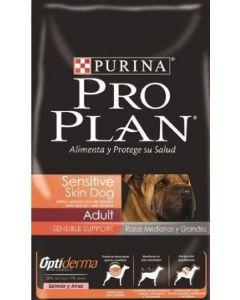 Comida para Perro Pro Plan Sensitive Skin Razas Medianas y Grandes-Ciudaddemascotas.com