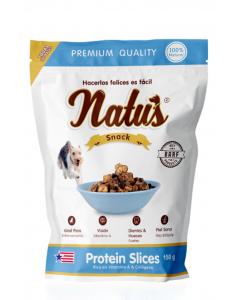 Snacks para perros Natus Protein Slices - ciudaddemascotas.com