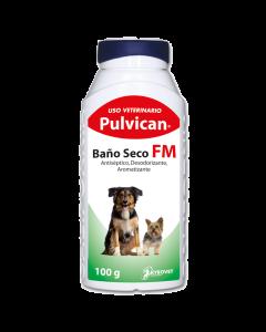 Pulvican Baño seco para Perros FM 100 g-Ciudaddemascotas.com