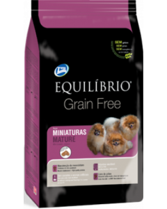 Equilibrio Perro Mature Miniatura Grain Free x 1 Kg - PRSR