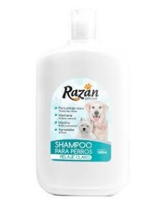 Razan shampoo pelaje claro 1 litro - Ciudaddemascotas.com