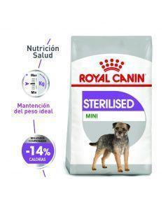 Comida para perro Royal Canin  Sterilised Mini-Ciudaddemascotas