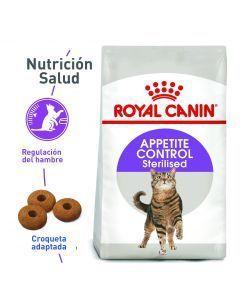 Comida Gatos Royal Canin Control Sterilised-Ciudaddemascotas.com