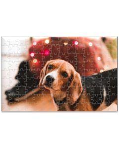 Rompecabezas MDF Beagle Para Adulto - Ciudaddemascotas.com