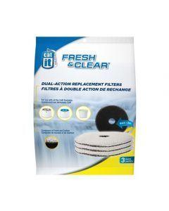 Repuesto Filtro Fuente de Agua Para Gatos 2 Lt Pack x 3 und
