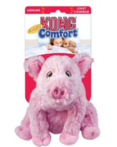 Juguete Kong Perro Peluche Comfort Cerdo - Ciudaddemascotas.com
