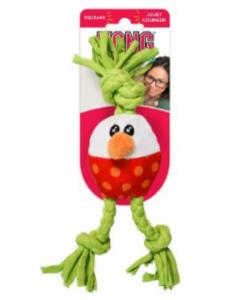 Kong Perro Peluche Dot Huevo Xsmall