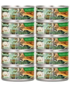 Taste of The Wild Lata Rocky Mountain 156 g Pague 9 lleve 10