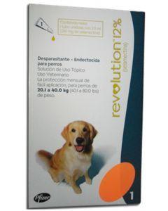 Antiparasitario para perros Revolution 12%-Ciudaddemascotas.com
