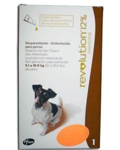 Revolution 12% Para Perros 5.1 a 10.0 kg 0.50 ml