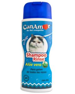 Shampoo Canamor Con Rinse Para Gato - Ciudaddemascotas.com